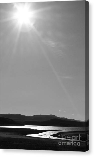 Blue Mesa Reservoir Canvas Print