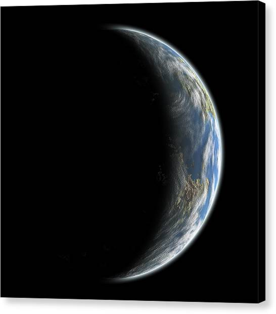 Blue Planet No.7 Canvas Print