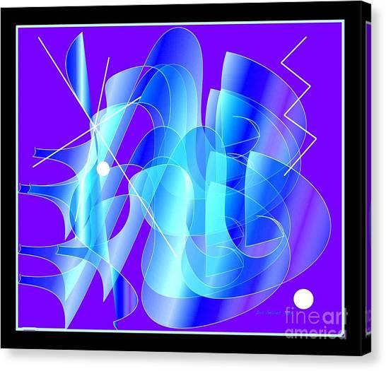 Blueprint Canvas Print