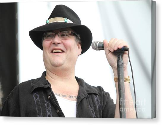 Attoo Canvas Print - Blues Traveler by Concert Photos