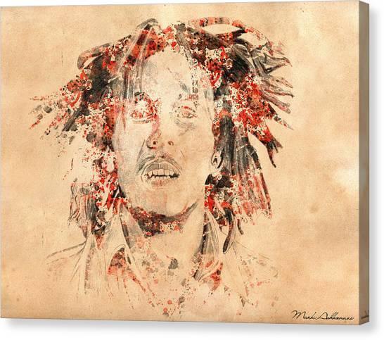 Bob Marley Face Canvas Prints | Fine Art America