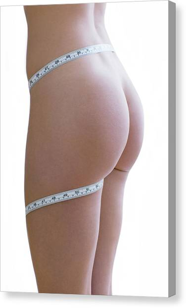 Body Image Canvas Print by Ian Hooton/science Photo Library