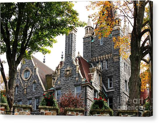Boldt Castle Canvas Print - Boldt Castle by Tony Cooper