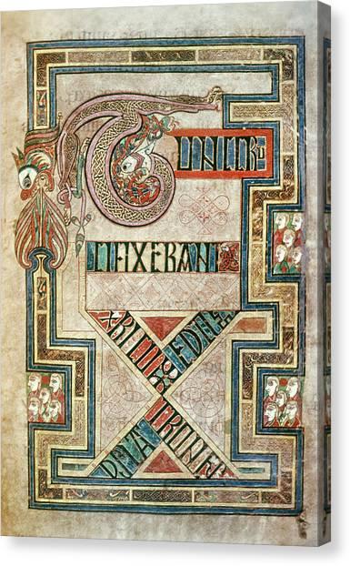 Kell Canvas Print - Book Of Kells (c800 by Granger