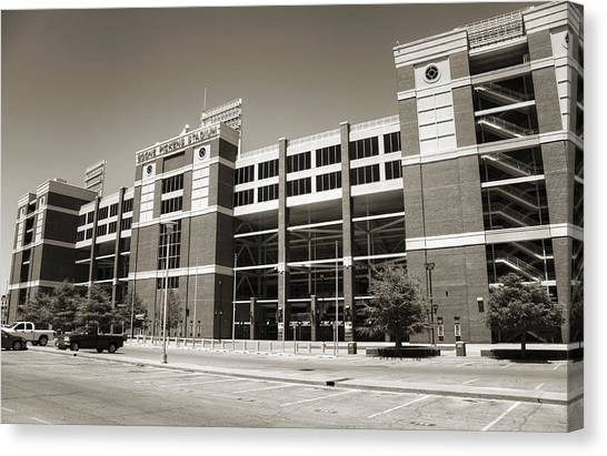 Oklahoma State University Canvas Print - Boone Pickens Stadium by Ricky Barnard