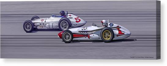 Bowes Seal Fast Roadsters Canvas Print