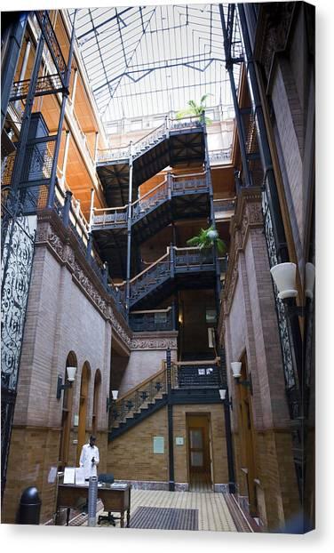 Bladerunner Canvas Print - Bradbury Building by Karen Cowled