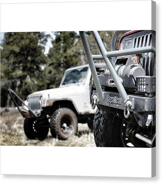 Offroading Canvas Print - Brand 34 Photography by James Crawshaw