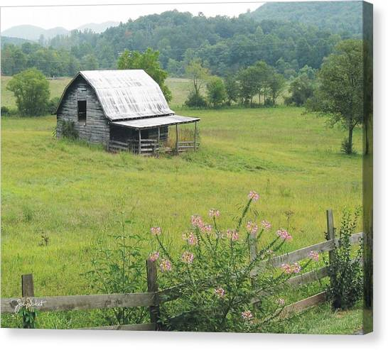 Brasstown Barn Canvas Print
