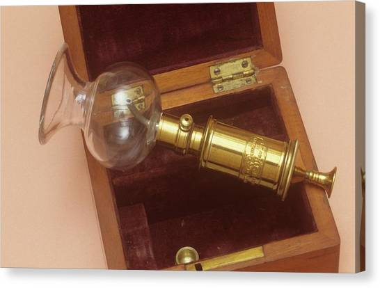 1880s Canvas Print - Breast Pump by Science Photo Library