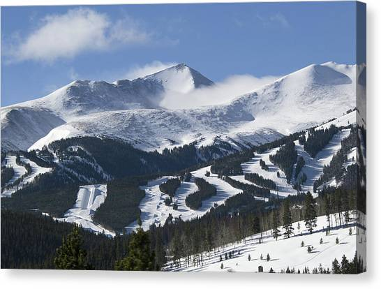 Breckenridge Resort Colorado Canvas Print