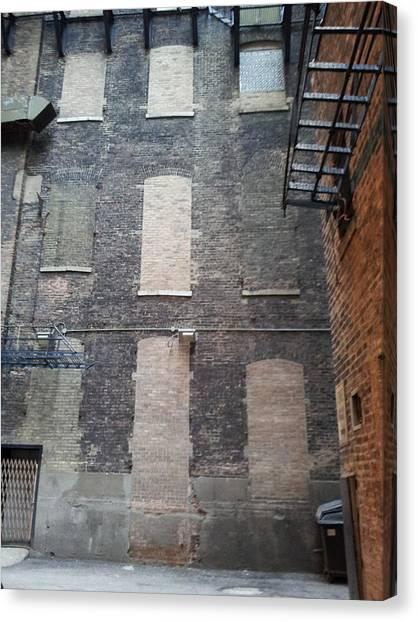 Brickovers Canvas Print