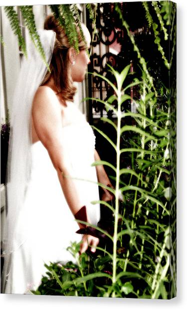 Bride Canvas Print by Brett Kurtz
