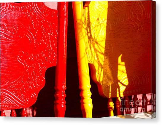 Bright Shadows Canvas Print