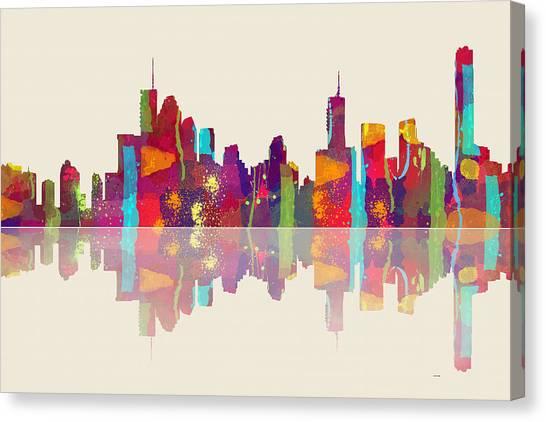 Brisbane Australia Skyline Canvas Print