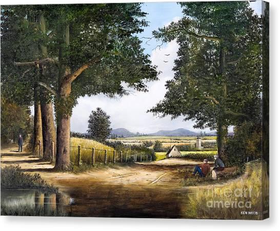Bromyard Downs Canvas Print