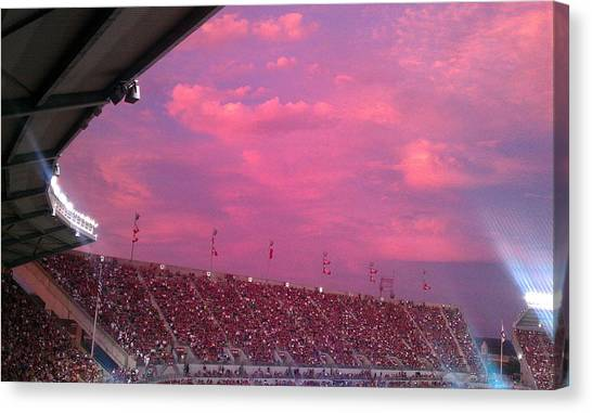 Bryant-denny Painted Sky Canvas Print