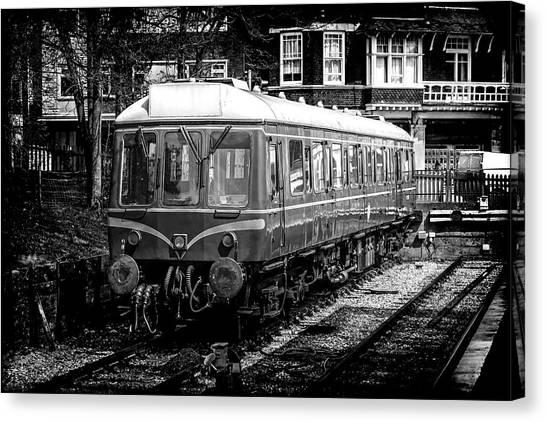 Bubble Cars Canvas Print   Bubble Train By Chris Smith