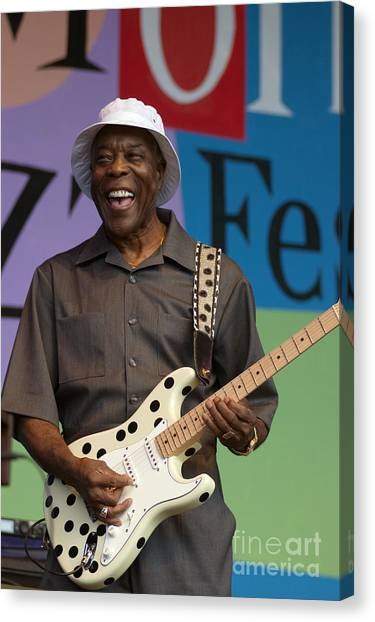 Buddy Guy Smiling Canvas Print