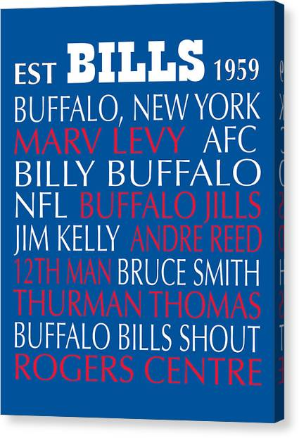 Buffalo Bills Canvas Print