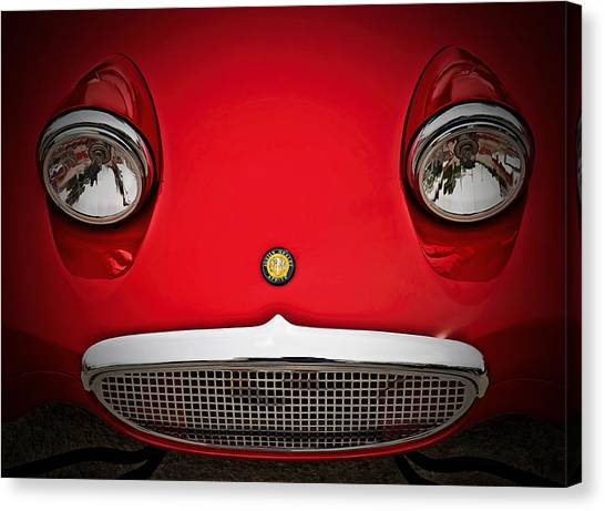 Austin Canvas Print - Bug Eyed Sprite by Douglas Pittman