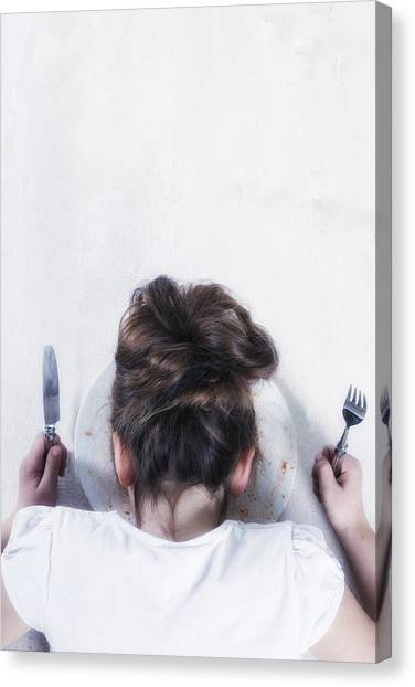 Causes Canvas Print - Burnout by Joana Kruse