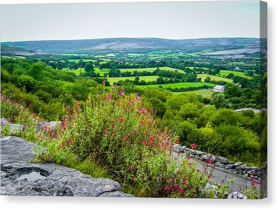 Burren National Park's Lovely Vistas Canvas Print