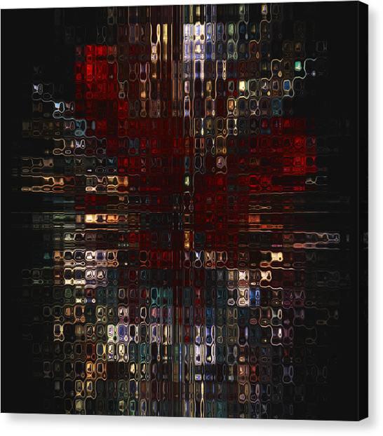 Imagery Canvas Print - Burst  by Jack Zulli