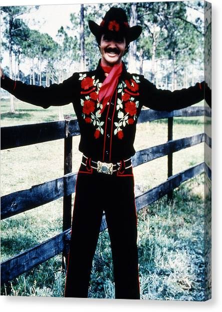 Burt Reynolds Canvas Print - Burt Reynolds In Smokey And The Bandit  by Silver Screen