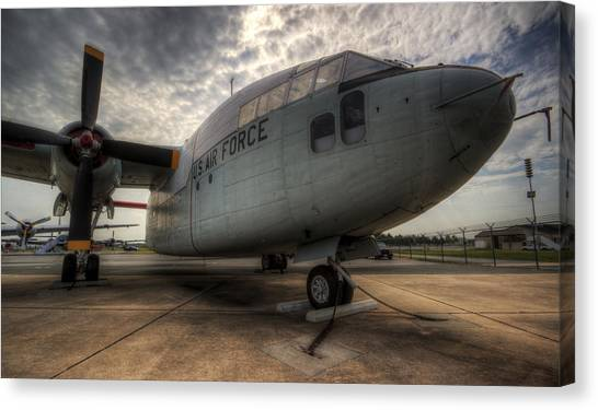 C-119 Flying Boxcar Canvas Print