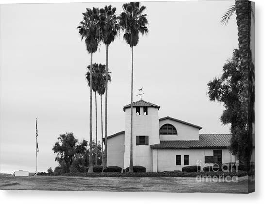 Cal Poly Canvas Print - Cal Poly Pomona Union Plaza by University Icons