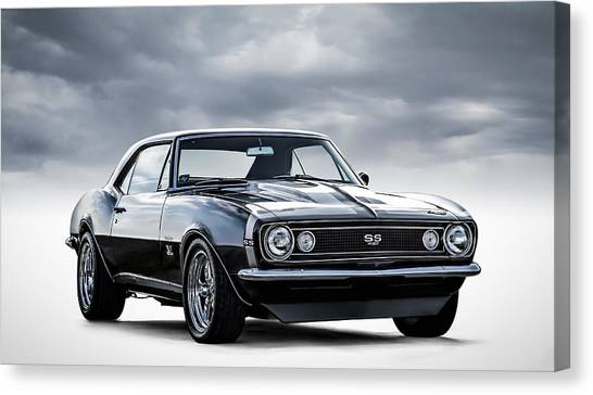 Muscles Canvas Print - Camaro Ss by Douglas Pittman