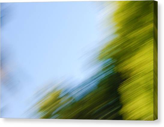 Camera Toss Canvas Print