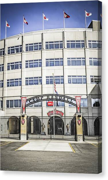 Camp Randall Canvas Print