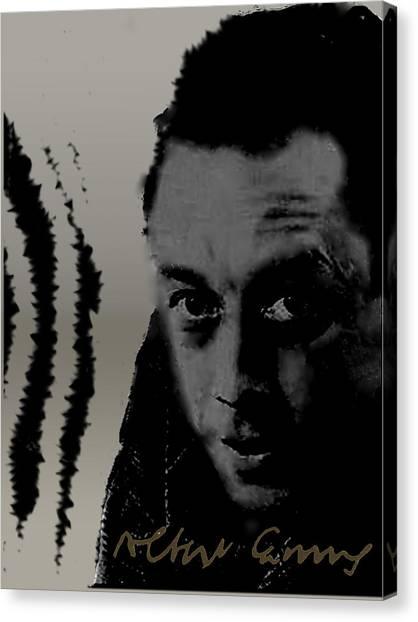 Camus Canvas Print