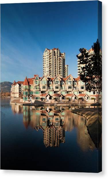 Okanagan Valley Canvas Print - Canada, British Columbia, Okanagan by Walter Bibikow