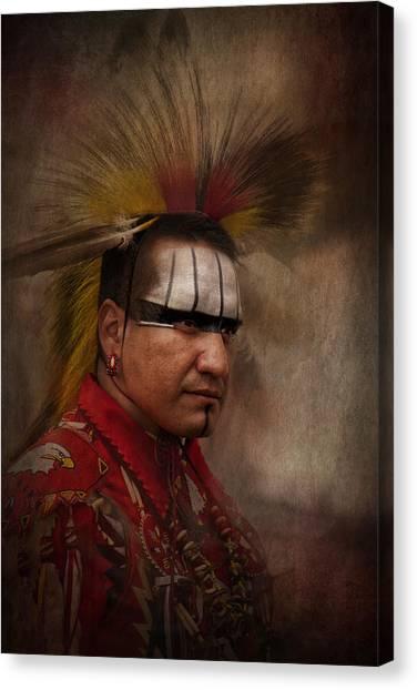 Canadian Aboriginal Man Canvas Print