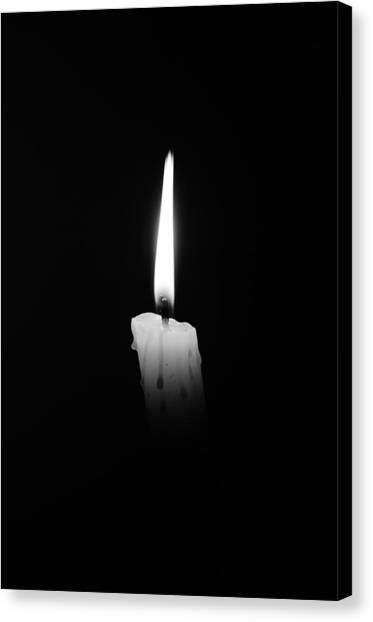 Candlelight Fantasia Canvas Print