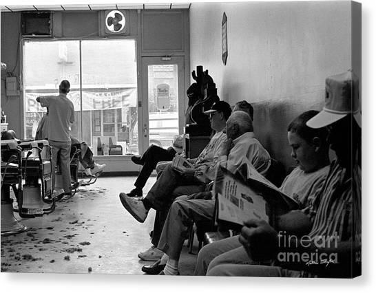Canton Barber Shop 1997 Canvas Print
