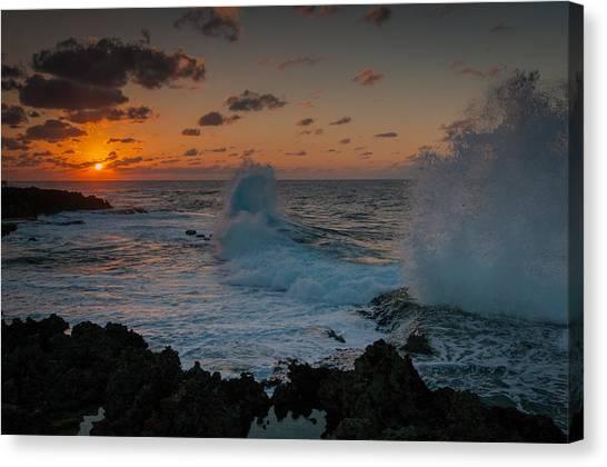 Cape Zampa Sunset Canvas Print