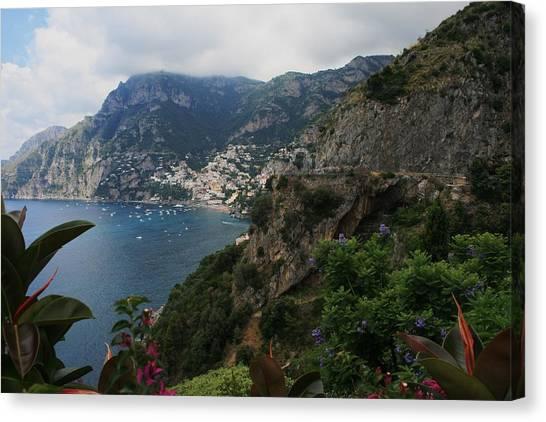 Capri Island Italy Canvas Print