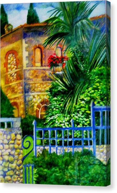 'casa At Radda' Canvas Print