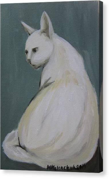 Cat 2014 Canvas Print by Maria Melenchuk