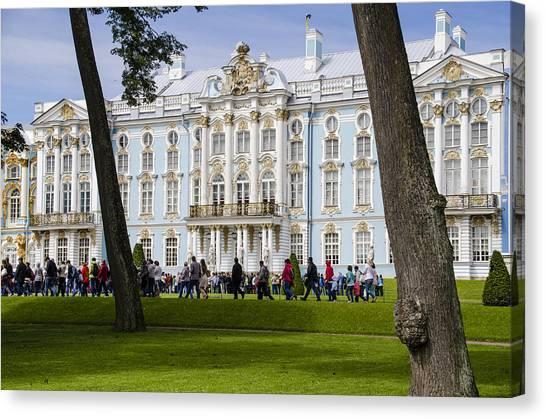 St John The Russian Canvas Print - Catherine Palace - St Petersburg Russia by Jon Berghoff