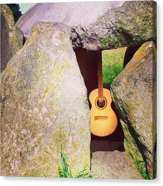 Guitars Canvas Print - #catherwood #guitars #luthier #lutherie by J Catherwood