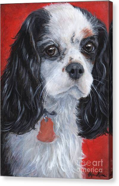 Cavalier King Charles Spaniel Canvas Print by Hope Lane