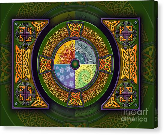 Celtic Elements Canvas Print