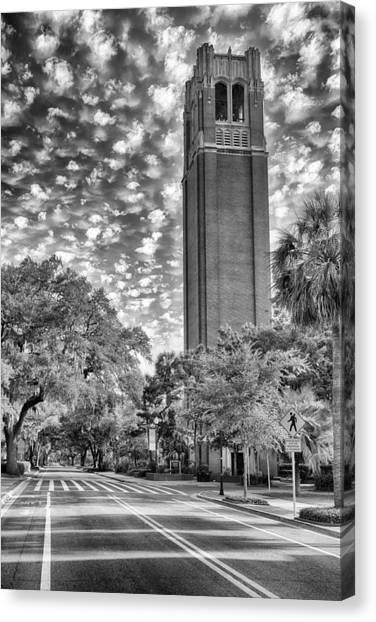 University Of Florida Canvas Print - Century Tower  by Howard Salmon