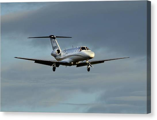 Cessna Citation 525b Canvas Print