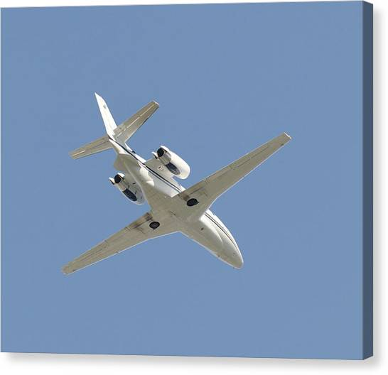 Cessnas Canvas Print - Cessna Private Jet by Aviation Images / Science Photo Library